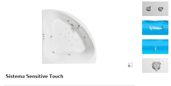 bañera hidromasaje trevo