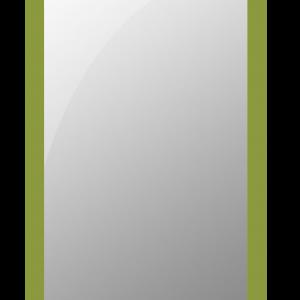 espejo marco cristal