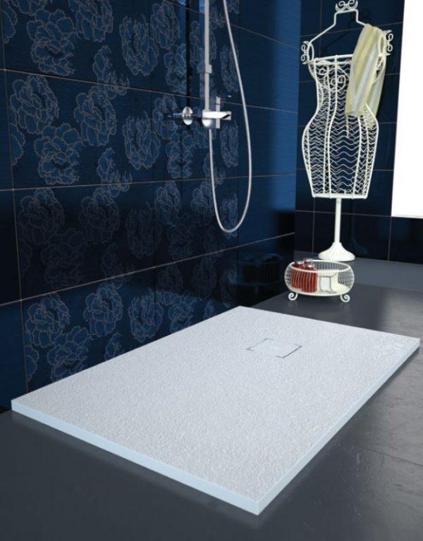 Plato ducha modelo liso enmarcado