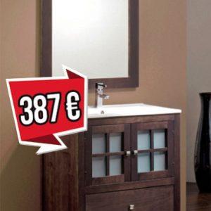mueble de baño duna 80cm