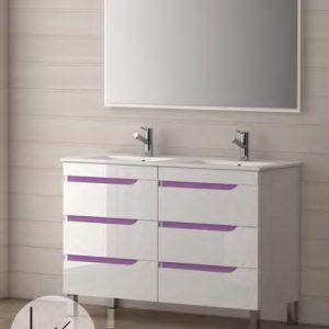 mueble de baño mar 122