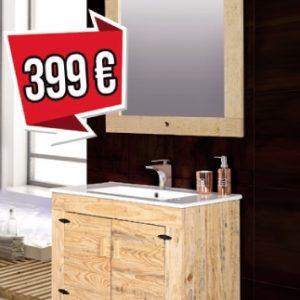 mueble de baño palet 80cm