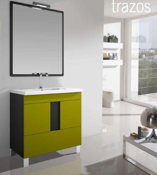 mueble de baño trazos