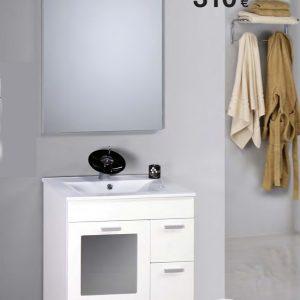 mueble de baño trebol 62