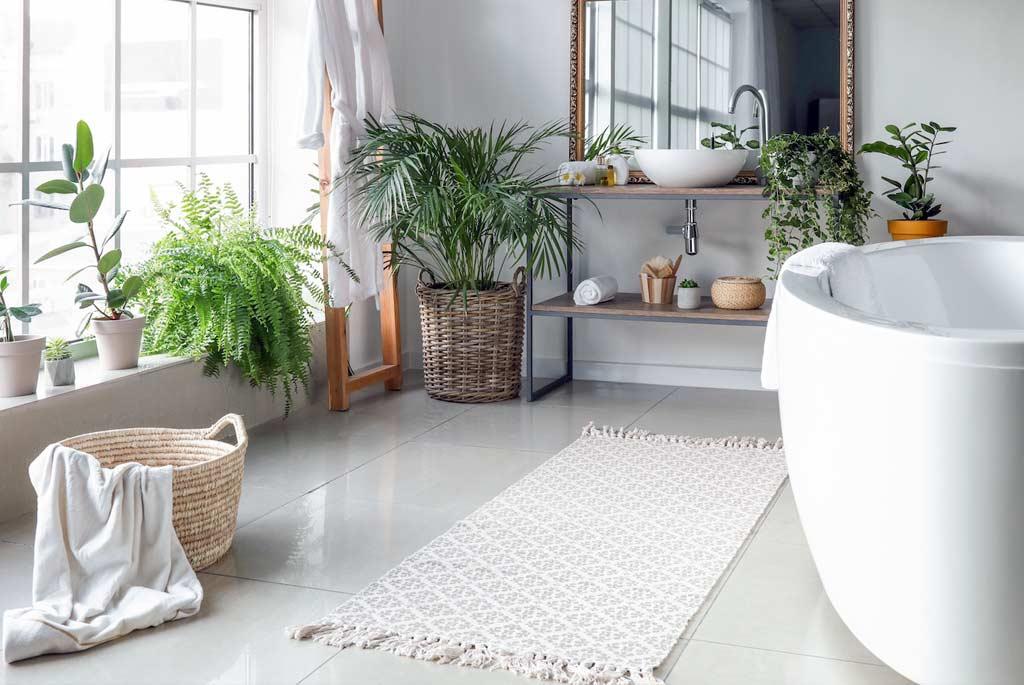 muebles alfombras bano