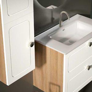 conjunto mueble de baño