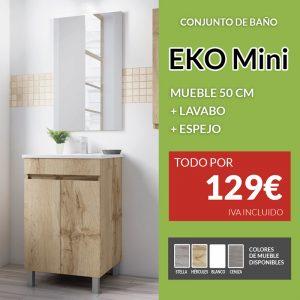 conjunto mueble de baño mini